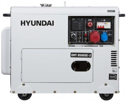 Дизельный генератор HYUNDAI DHY 8500-SE-3