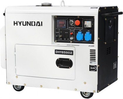 Дизельный генератор HYUNDAI DHY 8500-SE