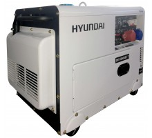 Дизельный генератор HYUNDAI DHY 8500-SE-T