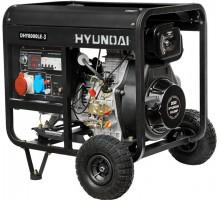 Дизельный генератор HYUNDAI DHY8000LE-3