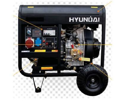 Дизельный генератор HYUNDAI DHY4000LE