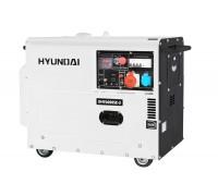 Дизельный генератор HYUNDAI DHY6000SE-3